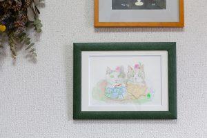 素敵な肖像画(猫)