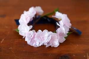 桜の花冠(猫専用)